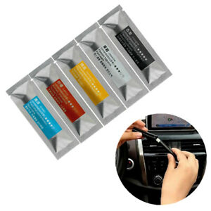 5* Replacement Car Air Vent Fragrance Perfume Freshener Solid Stick Aromatherapy