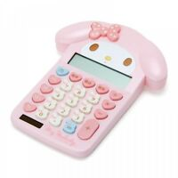 New Sanrio  My melody Face Shaped Key Calculator From Japan F/S