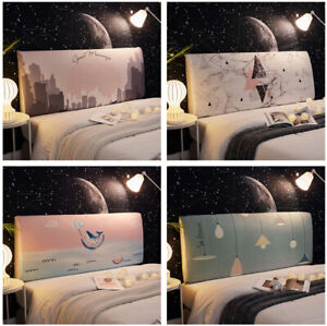 Headboard Slipcover Elastic Bedside Protector Cover Dustproof Bed Head Cover