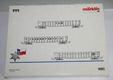 Cajas de iniciación de escala H0 Märklin de plástico para modelismo ferroviario