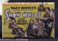"Snow White and the Seven Dwarfs Movie Poster 2"" X 3"" Fridge Magnet. Disney"