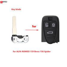 Remote Car Key blade Replacement Uncut Blade for ALFA ROMEO 159 Brera 156 Spider