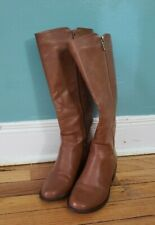 boots forever 21 only worn once- Faux Leather Knee-High Zipper Boots