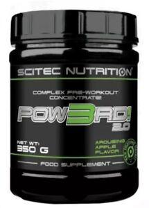 SCITEC NUTRITION POW3RD 2.0 COMPLEX PRE-WORKOUT CONCENTRATE 50 SERV⭕️