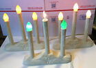 Vintage NOMA 3 Light Electric Candolier, Set of 3, Holiday, Christmas, XMAS