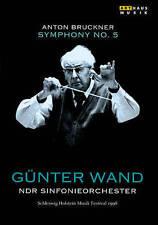 NEW!!! Gunter Ward, Anton Bruckner - Symphony No. 5 (DVD, 2014)