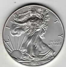 2015 American Eagle One Ounce Silver Uncirculated Coin, W Mintmark