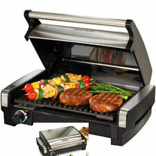 Indoor BBQ Grill Countertop Kitchen Appliance Searing Grills Lunch Breakfast RV
