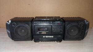 Cassette Boombox SHARP WF-379Z(BK) Works