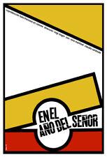 Movie Poster 4 film En el ano del senor.Lord.Room house home art decor design