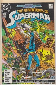 SUPERMAN CROSS-OVER LEGENDS CHAPTER 18 MARCH 1987 #426 DC COMIC BOOK