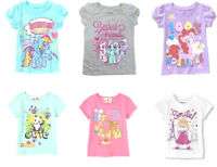 My Little Pony Lego Duplo Muppets Toddler Girls T-Shirts Sizes 2T 3T 4T 5T NWT