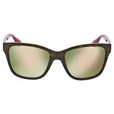 Vogue Dark Havana Square Sunglasses 2896S W6565R-54