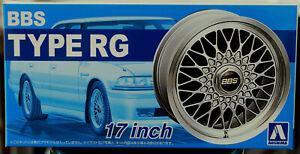 Aoshima 052402 Felgen BBS RG 17 Zoll inkl. Bridgestone Expedia S 07 1:24 # 01