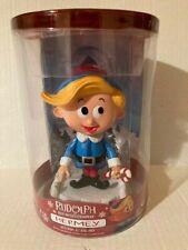 Funko Wobblers Elf Hermey Rudolph Red Nosed Reindeer Vinyl Bobble Head Pop