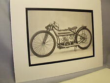 1928 Douglas Dirt Track  Motorcycle Exhibit From National Motorcycle Museum
