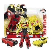 Transformers Robots in Disguise  Crash Combiners Bumblebee e Sideswipe Hasbro