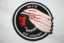 345TH BOMB GROUP EXCELLENT COPY WW2 A2 JACKET SQUADRON PATCH AIR APACHES