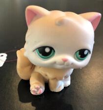 Littlest Pet Shop LPS Tan Persian Cat #129