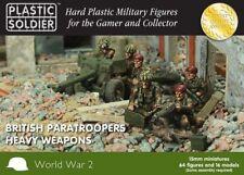 Plastic Soldier WW2015016- British Paracaidistas Heavy Armas - 15mm
