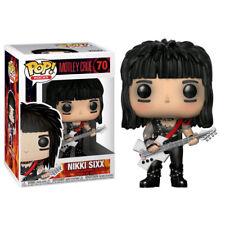 Motley Crue (Band) - Nikki Sixx Pop! Vinyl Figure NEW Funko