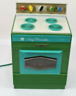 Vintage 1968 Deluxe Topper Corp. Suzy Homemaker Teal Oven Stove