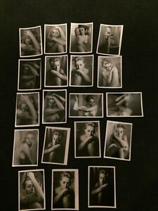 x19 Found Photo Lot Original One of a Kind Beautiful Artistic Nude/Portrait 5x7