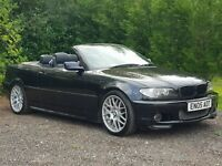 NICE 2005 BMW 330Ci M SPORT CONVERTIBLE FACELIFT *FULLY LOADED*SAT NAV TV* AUTO