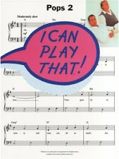Learn to Play Pops 2 Chart Hits Songs Beginner Simple EASY Piano MUSIC BOOK
