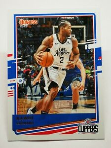Panini Donruss 2020-21 N9 NBA trading card #146 Kawhi Leonard L.A Clippers