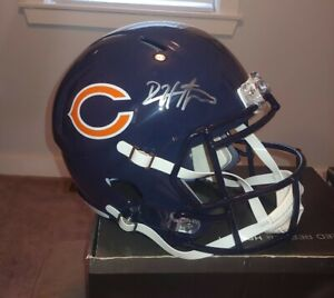 DEVIN HESTER AUTOGRAPHED FULL SIZE SPEED REP HELMET JSA WITNESSED HOLOGRAM BEARS