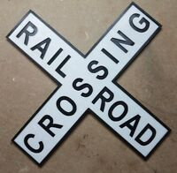 Railroad Crossing Sign (3d Printed Crossbuck Train Sign)