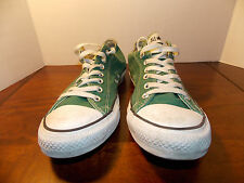 2000's Green Canvas Low Coverse Men's Size 10 FREE SHIPPING (used)