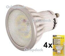 4 x GU10 LED Energy Saving Light Bulbs. 3.5W. 100°angle. (Four Pack) Rolson 6181
