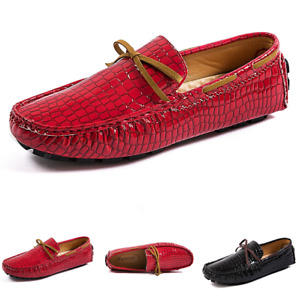 Nightclub Mens Fashion Pumps Slip on Loafers Shoes Driving Moccasins Flats New L
