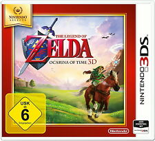Nintendo 3 DS Spiel: Zelda Ocarina of Time 3DS SELECTS NEU & OVP PAL Version