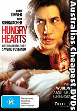 Hungry Hearts DVD NEW, FREE POSTAGE  WITHIN AUSTRALIA  REGION ALL