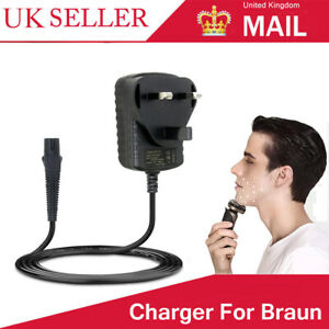 Mens Shaver Charger Power Cable Lead For Braun Series 3 340 720 720s-3 720s-4