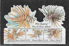 Pitcairn Islands 2015 Red Lionfish MS UMM