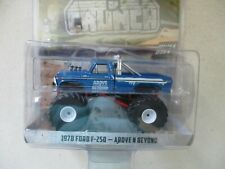 Miniature 1/64 Greenlight Monster Truck 1978 Ford F 250 above N Beyond