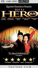 Jet Li Hero UMD PSP Movie Sony PlayStation Portable Video 2005 New Sealed