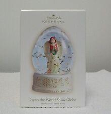 Hallmark  Ornament  JOY TO THE WORLD GLOBE--SNOW GLOBE
