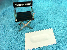 VINTAGE TUPPERWARE GRAY SPOTS SPECKLED CAKE DECORATING MADE EASY GADGET # 1558