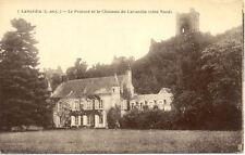 Carte postale ancienne postcard LAVARDIN 7 le prieuré et le château de lavardin