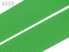 2 METER Gummiband Gummibänder Band  20 mm  grün  NEUWARE (Grundpreis: 1,30€/m)