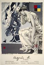 La Lecon De Peinture, 1980 by Loulou Picasso Lithograph Art Print