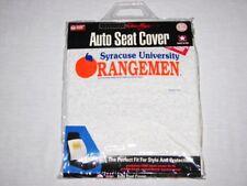 Syracuse Orangemen Auto Seat Cover NEW NIP RARE Vintage