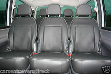 FORD GALAXY 2ND GEN BLACK SEAT COVERS