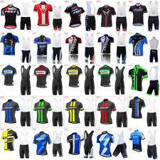 mens team cycling jersey and bib shorts sets cycling jerseys cycling shorts A15