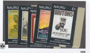 NAURU # 582-587 VF-MNH KGV SILVER JUBILEES YOUR KING AND COUNTRY